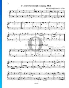 Sonatina (Fuga) in G Major, HWV 494