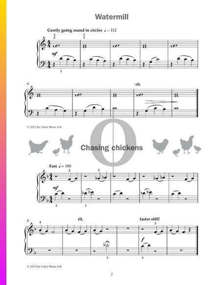 Watermill Sheet Music