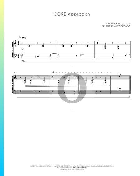 CORE Approach Musik-Noten