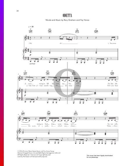 Odetta Sheet Music