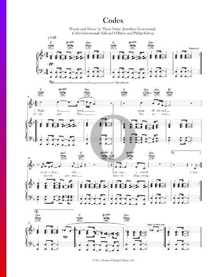 Codex Sheet Music