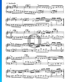 Suite Française No. 4 Es Major, BWV 815: 3. Sarabande