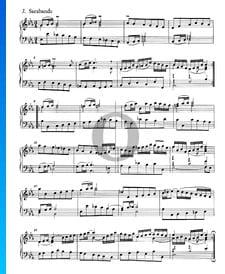 Suite francesa n.º 4 en mi bemol mayor, BWV 815: 3. Sarabanda