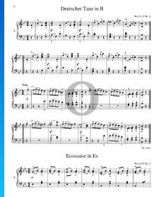 Deutscher Tanz, WoO 13 Nr. 6