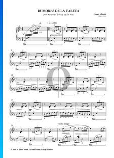 Recuerdos de Viaje, Op. 71 No. 6: Rumores de la Caleta