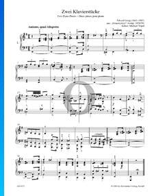 2 Piezas para piano, Smaastykker