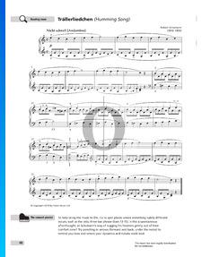 Humming Song, Op. 68 No. 3