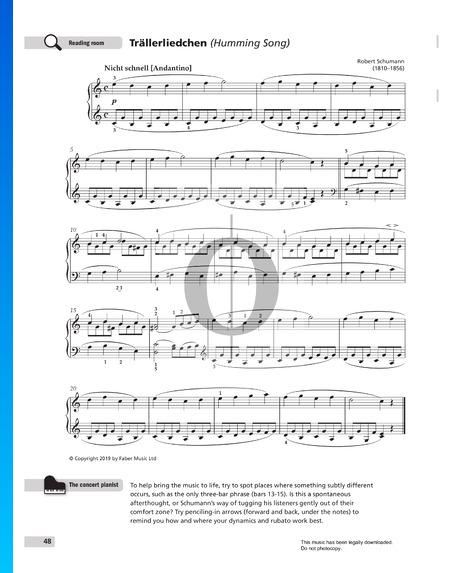 Trällerliedchen, Op. 68 Nr. 3 Musik-Noten