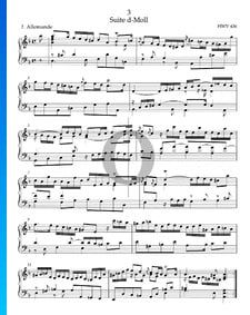 Suite d-Moll, HWV 436: 1. Allemande