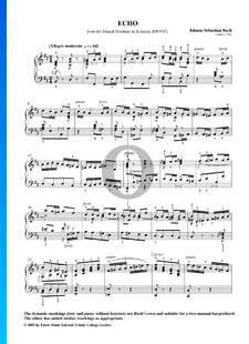 Ouverture nach Französischer Art, BWV 831: 11. Echo