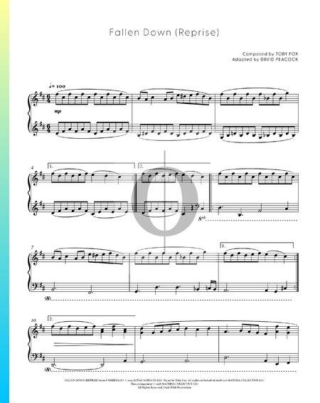 Fallen Down (Reprise) Musik-Noten