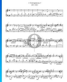 Contrapunctus 3, BWV 1080/3