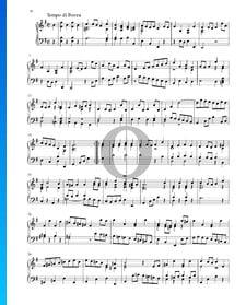 Partita en Mi mineur, BWV 1002: 7. Tempo di Borea