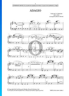Adagio en Sol mineur (Giazotto)