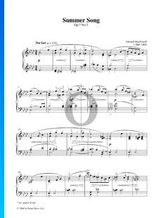 Canción de verano, Op. 7 n.º 3