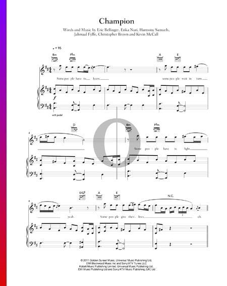 Champion Musik-Noten