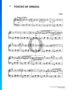 Frühlingsstimmen (Les Voix du Printemps), Op. 410