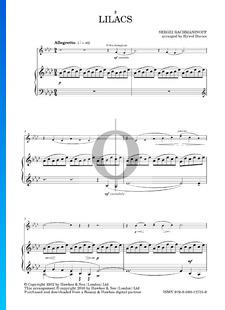 Lilacs, Op. 21 Nr. 5