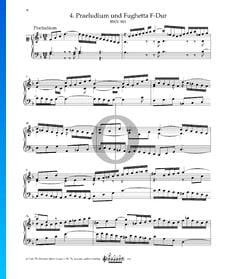 Prélude en Fa Majeur, BWV 901