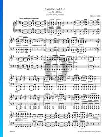 Sonate en Sol Majeur, Op. 78, D894: 1. Molto moderato e cantabile