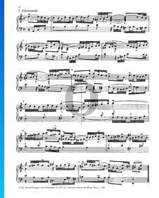 Partita 3, BWV 827: 2. Allemande