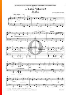 Latin Preludes 2: Prelude 1 (Slow Samba)