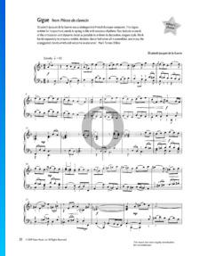 Pièces de clavecin: Gigue