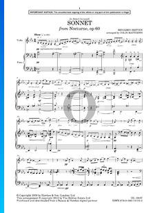 Nocturne, Op. 60: 8. Sonnet