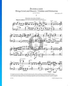 Cosas vividas y soñadas (Životem a snem), Op. 30 n.º 1