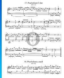 Prélude en La mineur, BWV 942