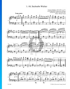 Sixteen Waltzes, Op. 39 No. 1