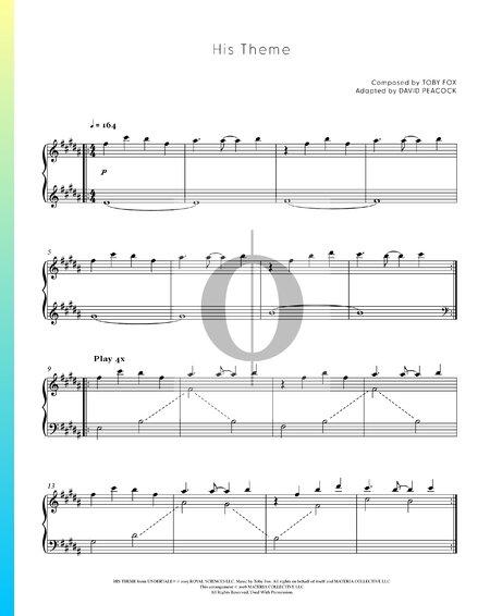 His Theme Musik-Noten