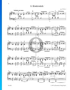 Kinderstück, Op. 72 Nr. 4