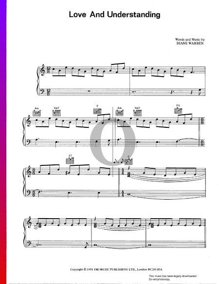 Love And Understanding Sheet Music