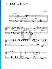 Polonaise en La Majeur, Op. 40 No. 1