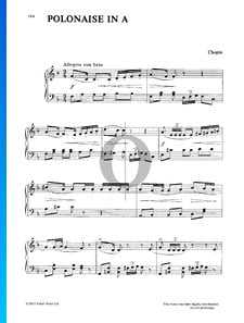 Polonesa en la mayor, Op. 40 n.º 1