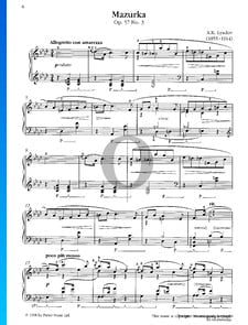 Mazurca, Op. 57 n.º 3