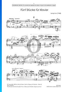 5 Piano Pieces: No. 2. Andante espressivo