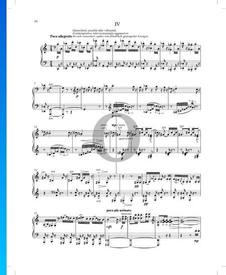 Erlebtes und Erträumtes, Op. 30 Nr. 4 Musik-Noten