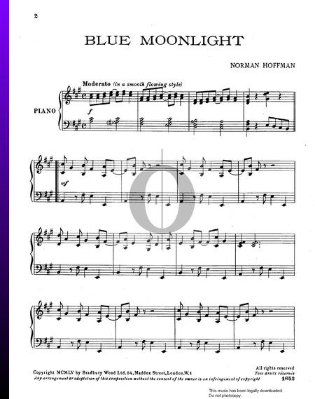 Blue Moonlight Sheet Music