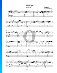 Impromptu in E-flat Major, Op. 90 No. 2, D 899