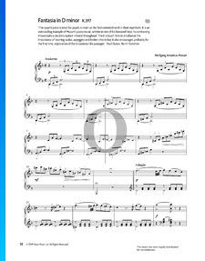 Fantasía n.º 3 en re menor, KV 397 (385g)