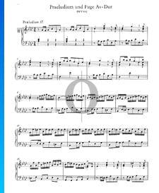 Prélude 17 La bémol Majeur, BWV 862