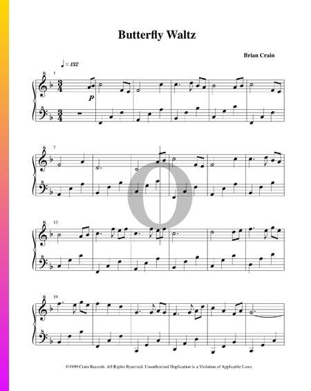 Butterfly Waltz Sheet Music