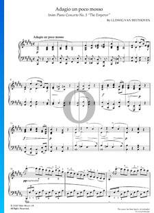 Piano Concerto No. 5 in E-flat Major, Op. 73 (The Emperor): 2. Adagio un poco mosso