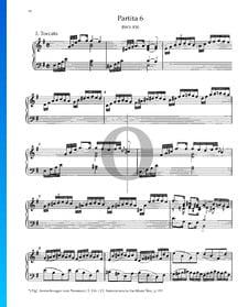 Partita 6, BWV 830: 1. Toccata