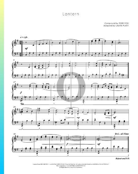 Lantern Sheet Music