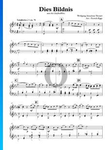 La flauta mágica, K. 620, Act 1, Sc 4: Dies Bildnis ist bezaubernd schön