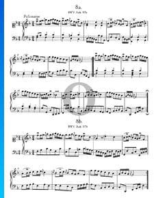 Polonaise F Major, BWV Anh. 117