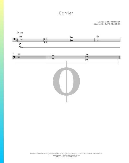 Barrier Sheet Music